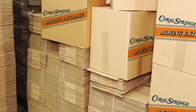 moving boxes, coral springs mover