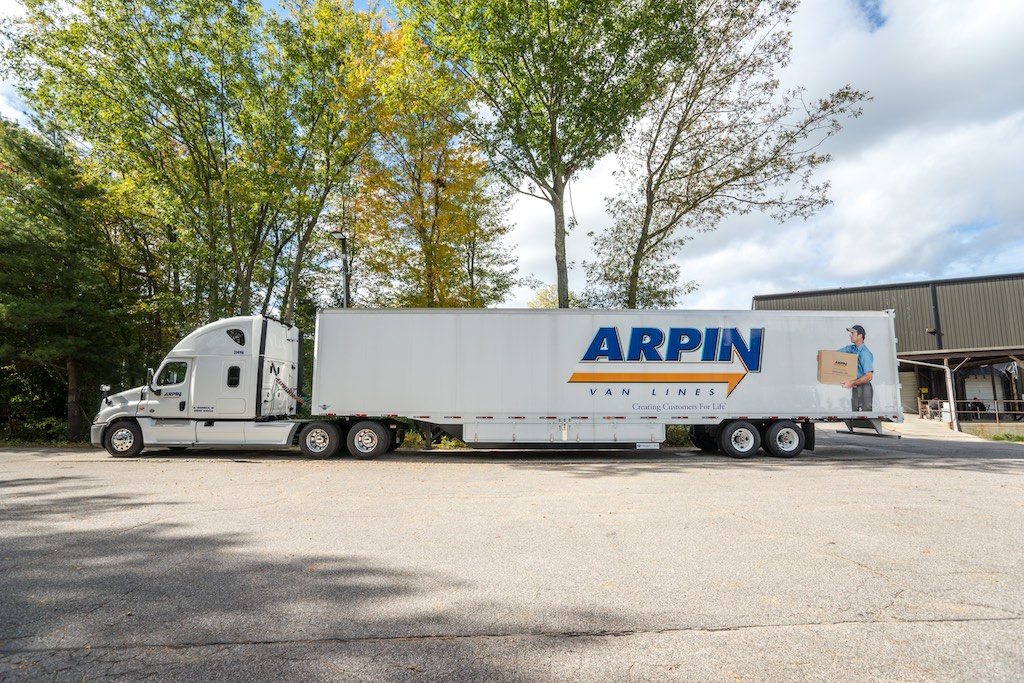 Arpin truck parked